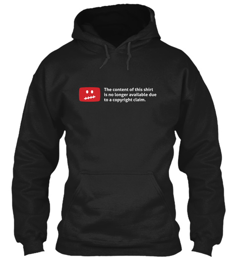 Content Takedown Hoodie