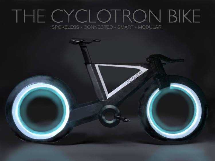Cyclotron Bike Hero Image