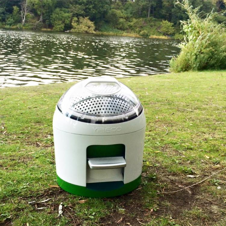 Drumi by a Lake