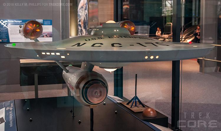 Restored USS Enterprise Model