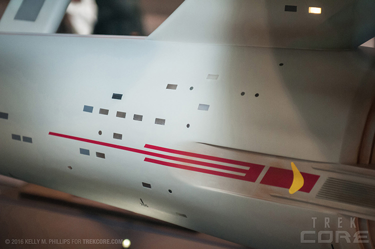 Restored USS Enterprise Model