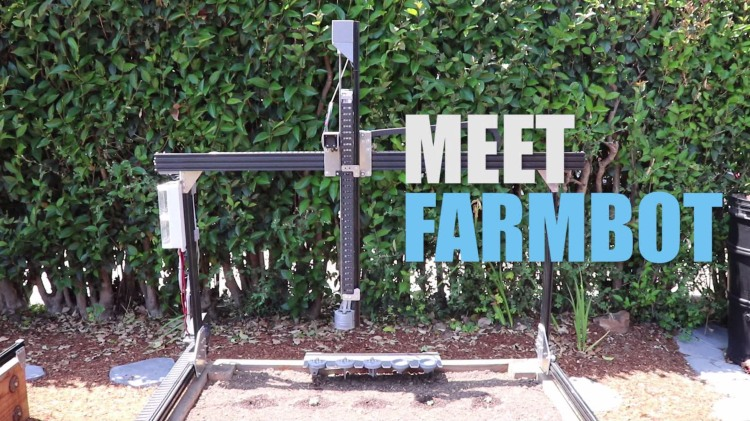 FarmBot Genesis, An Open Source Automated Farming Machine For Home Garden Use
