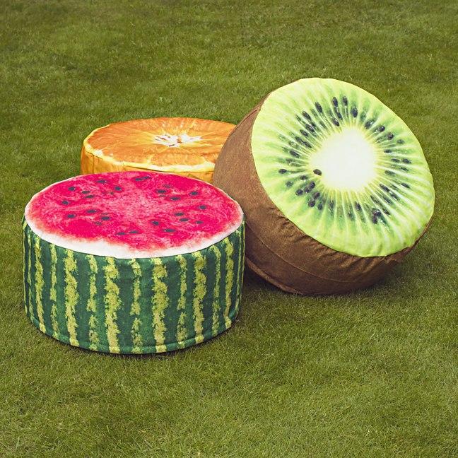 Fruit Pouffes