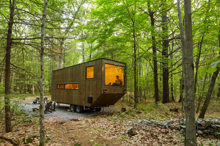 Getaway A Service That Rents Tiny Houses In The Woods To