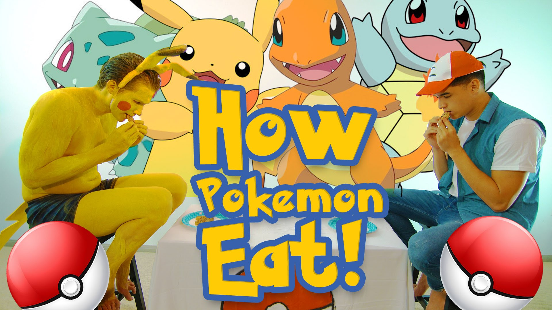 How pok mon might eat food in the real world for Pokemon cuisine