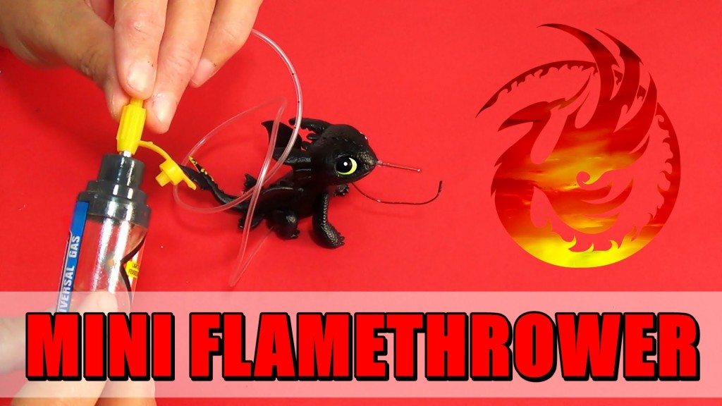 how to make a simple flamethrower