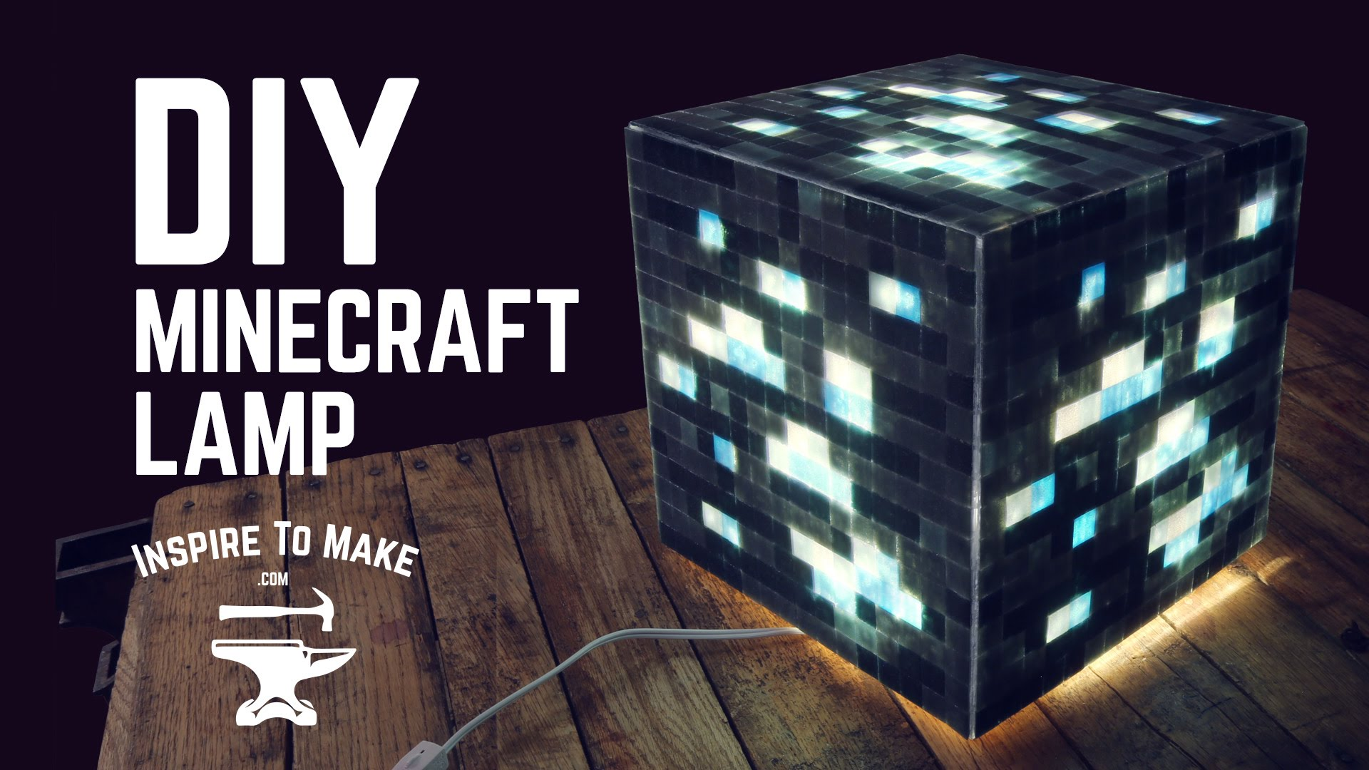 How To Craft Lamp In Minecraft