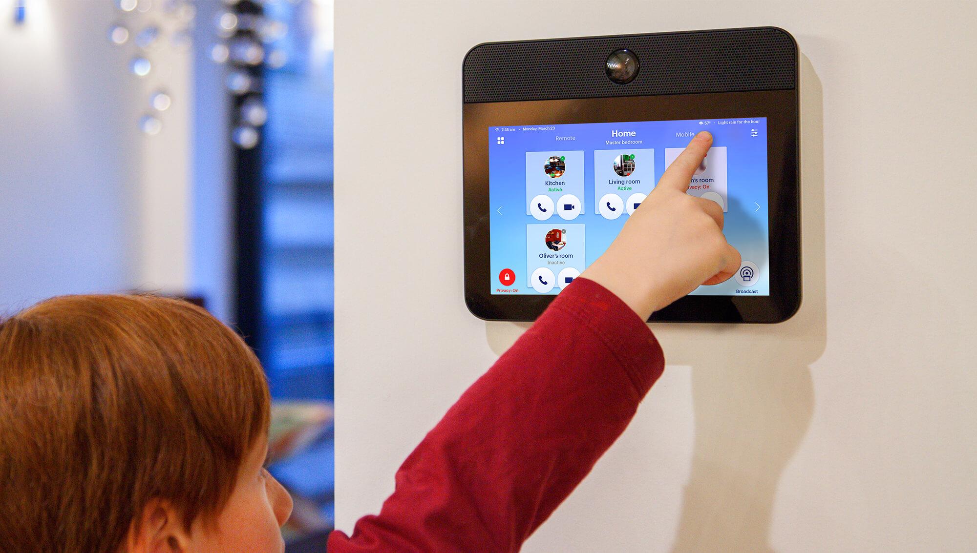 Nucleus A Modern Smart Home Wireless Intercom System That