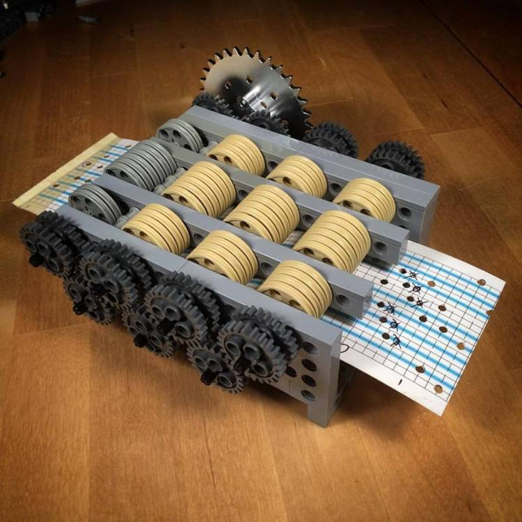 http://laughingsquid.com/the-wintergatan-marble-machine-a-hand-cranked-instrument-that-uses-2000-marbles-to-make-music/