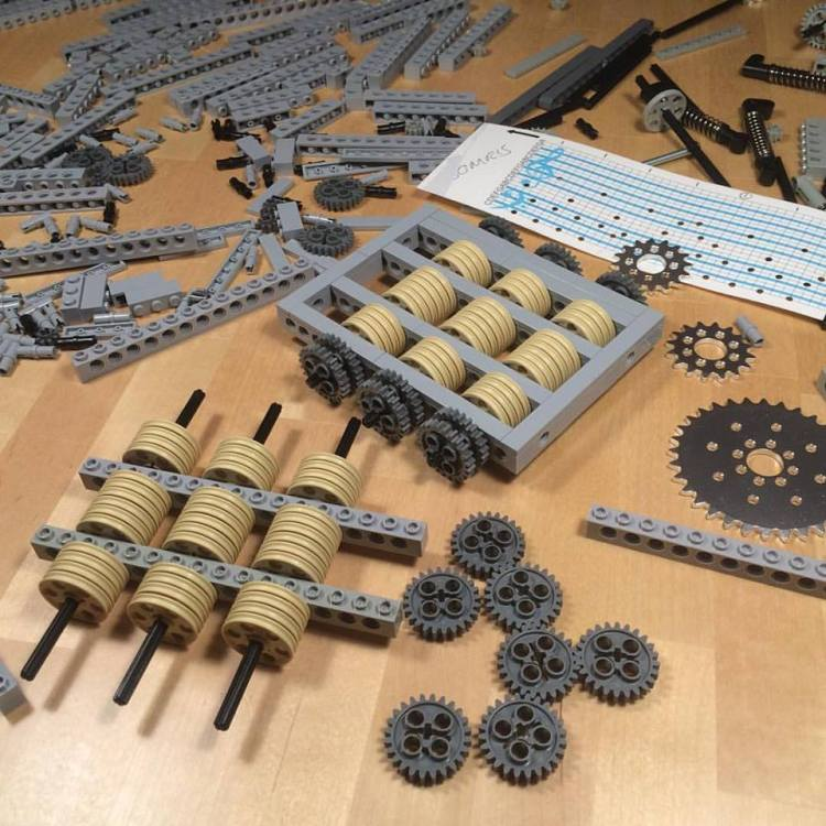 LEGO Music Box in Pieces