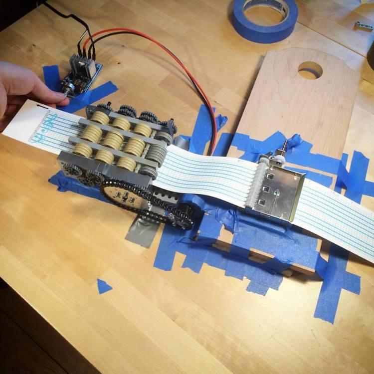 LEGO Music Box Machine