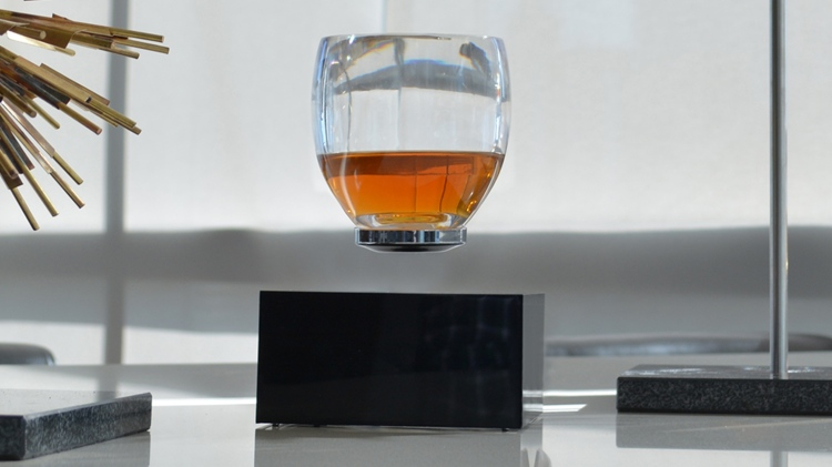 A Unique Levitating Cup That Literally Raises One's Spirits and Other Drinks