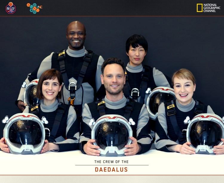 Mars Cast Photo