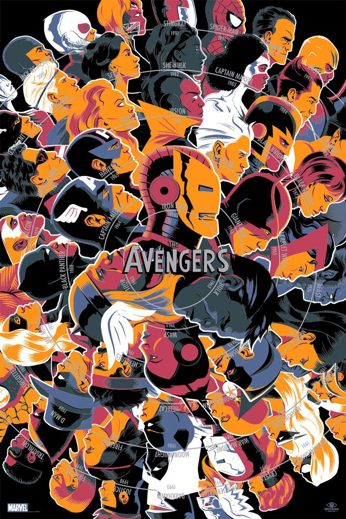 The Avengers by Matt Taylor