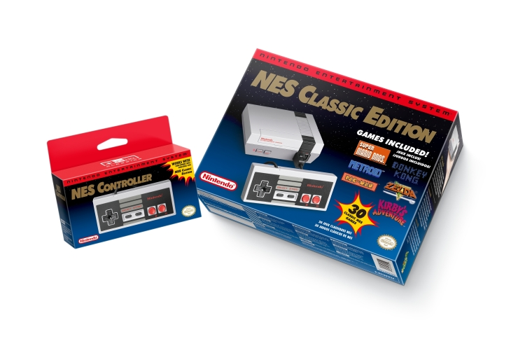 NES Classic in Boxes