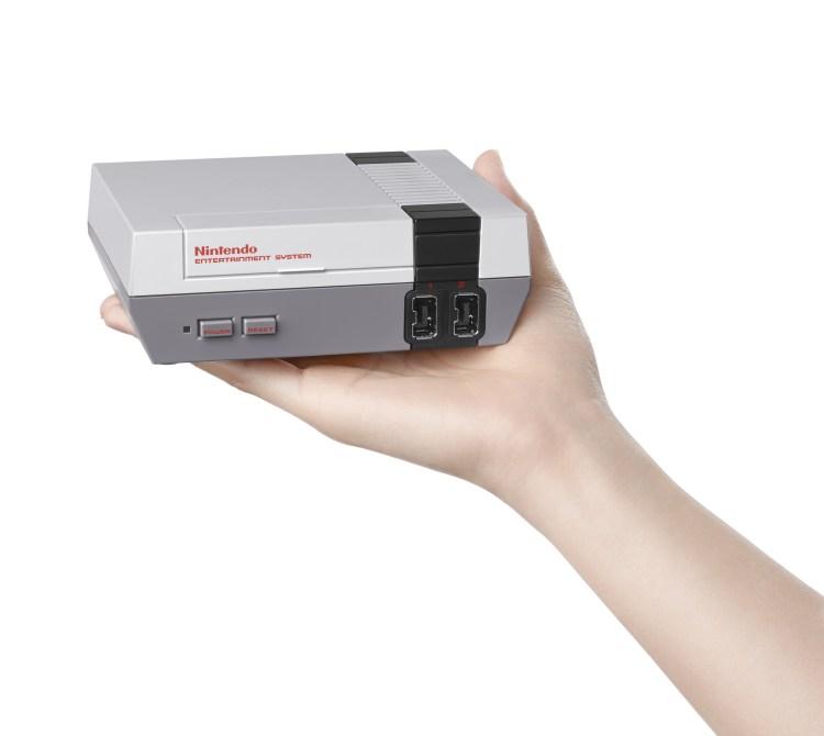 NES Classic in Hand