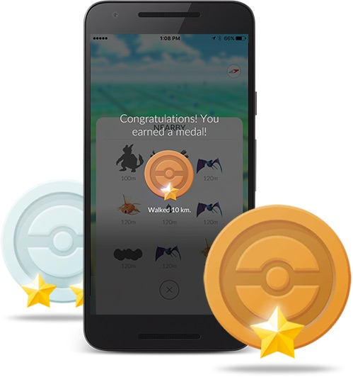 Pokemon Go Medals