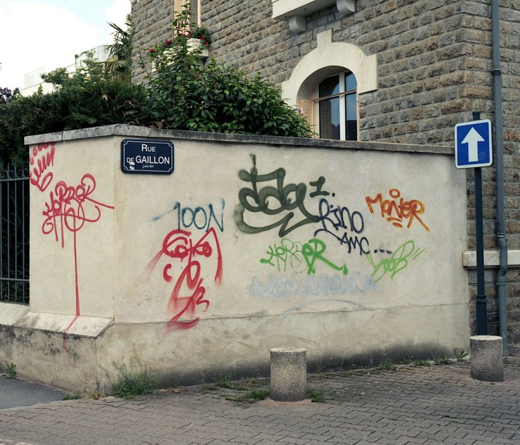 Rue de Gallion Graffiti