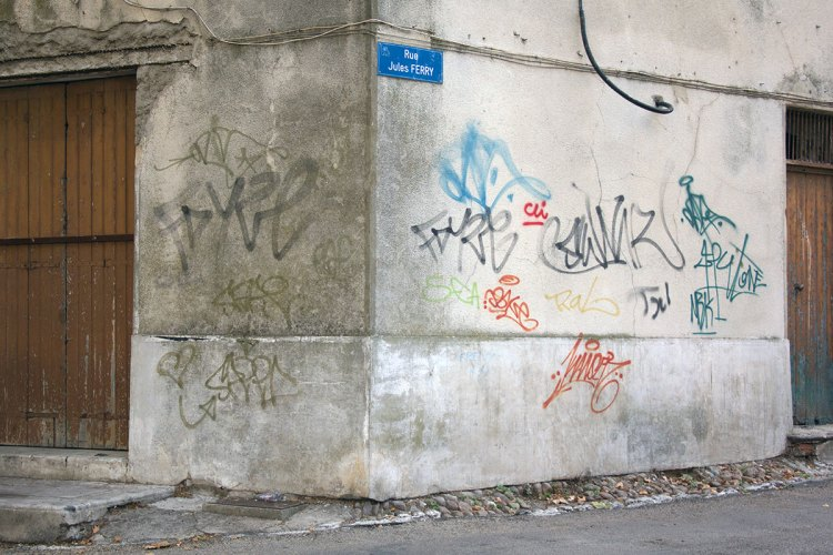 Rue Jules Ferry Graffiti