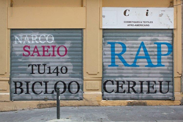 Rue Montesquie Graffiti Fixed