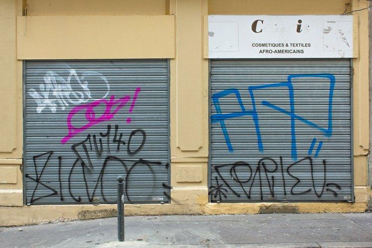 Rue Montesquie Graffiti