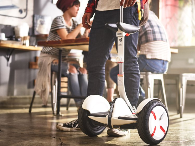 Segway miniPRO in Coffee Shop