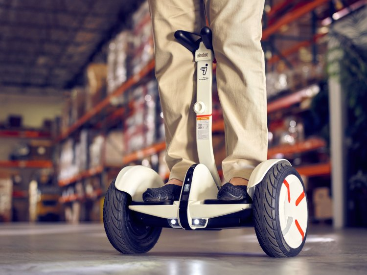 Segway miniPRO in Warehouse