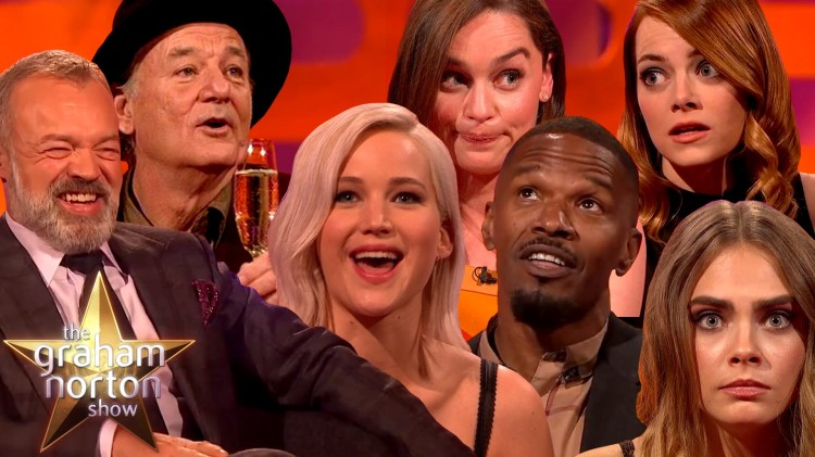 Some of the Best Moments From The Graham Norton Show Over the Past Nine Years