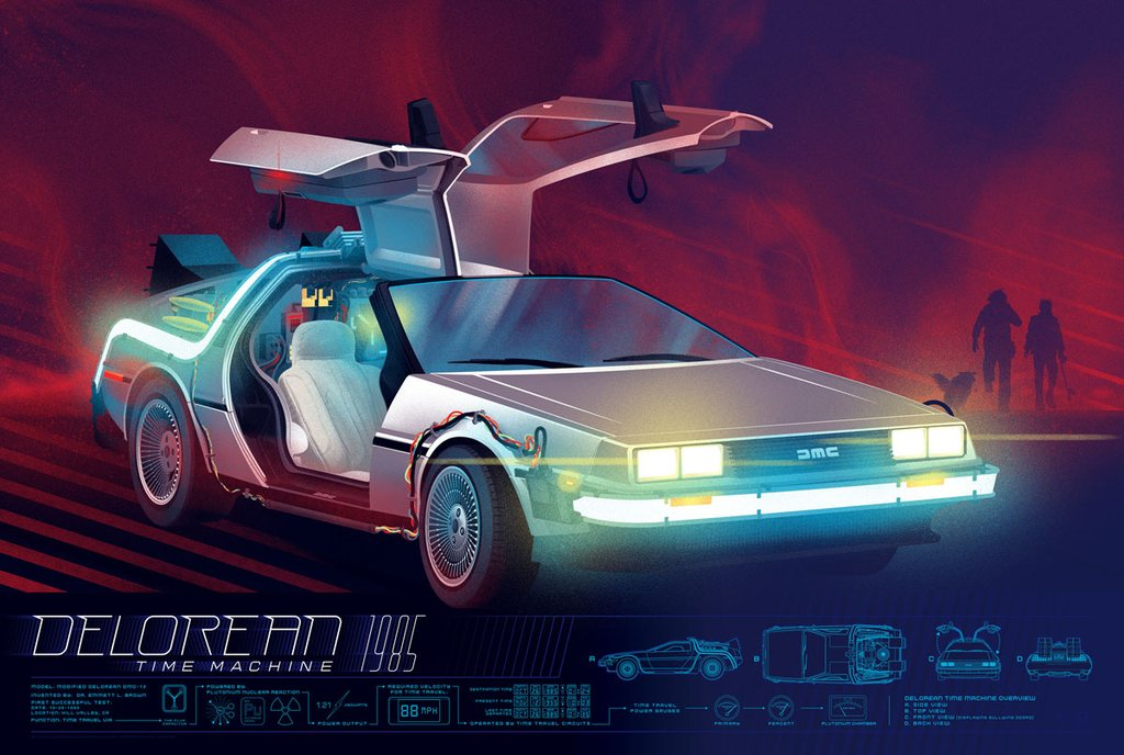 The Delorean by Kevin Tong