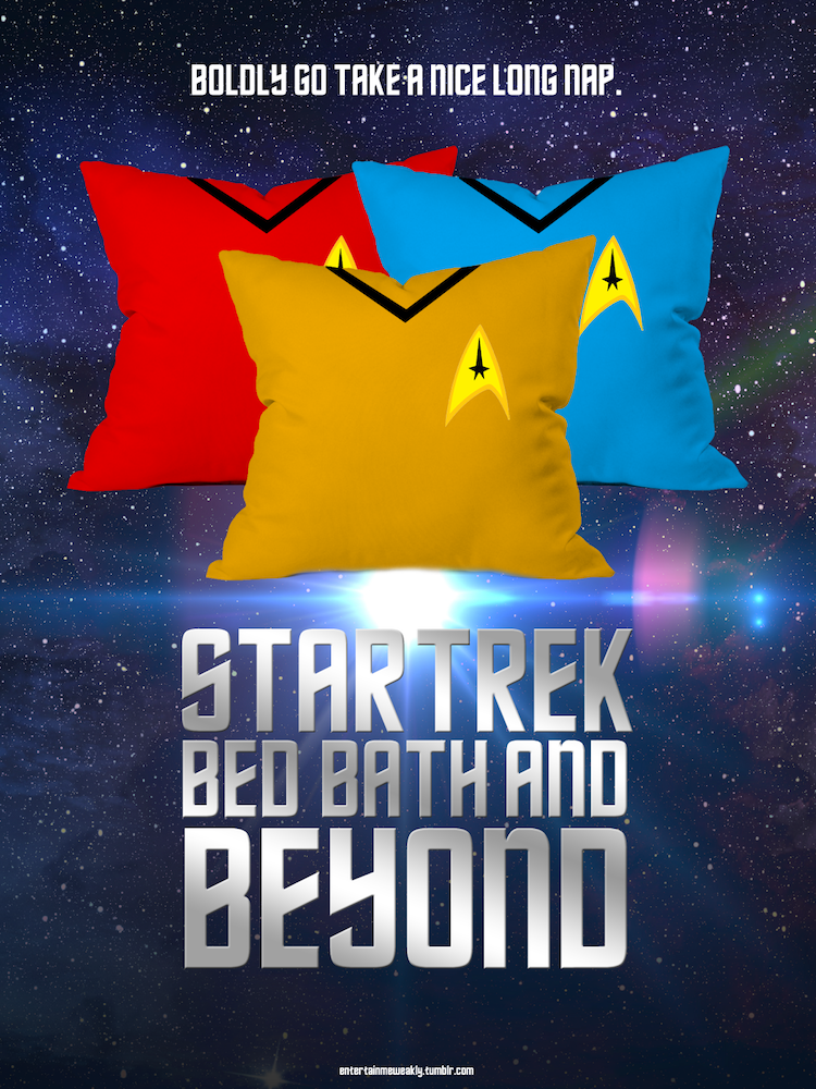 Star Trek Bed Bath and Beyond