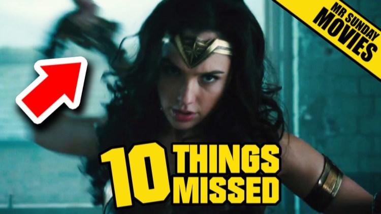 Wonder Woman Trailer Easter Eggs & Things Missed