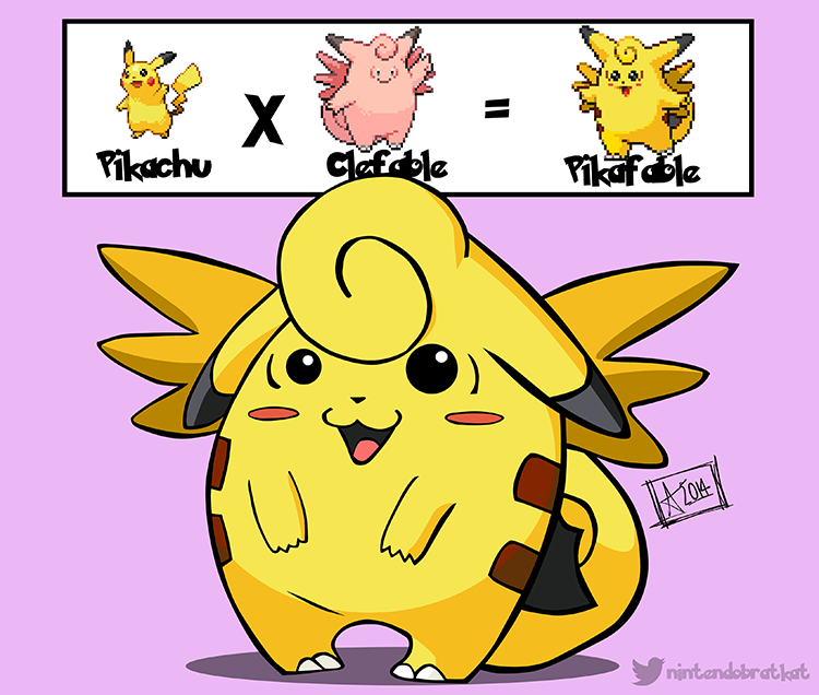 Artist Fuses Two Different Types of Pokémon Together to