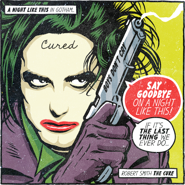 Post Punk And New Wave Rock Stars Reimagined As Dc Comics