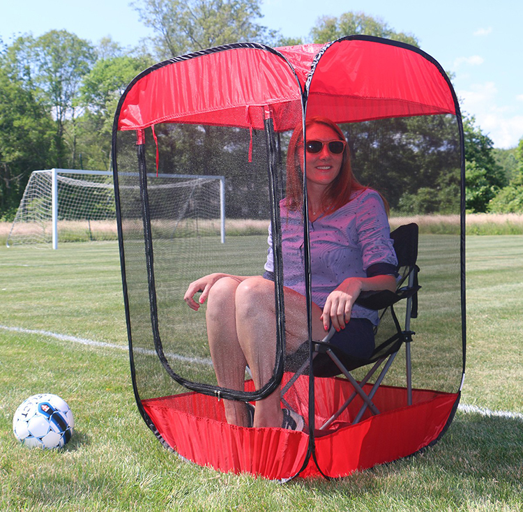 Screen Pod A Personal Pop Up Screen Tent That Provides