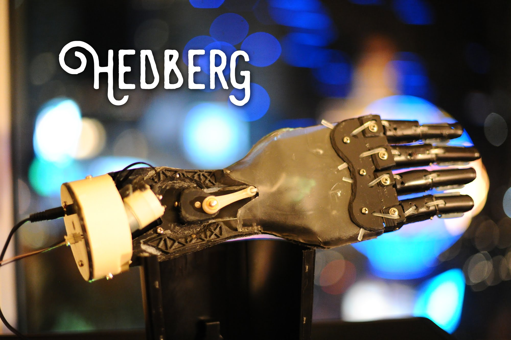 An Incredible Working Bionic Hand Made Entirely From a Disassembled Keurig Coffee Maker