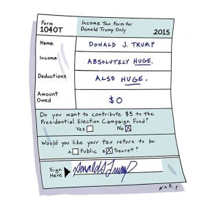 Donald Trump 2015 Income Tax Return