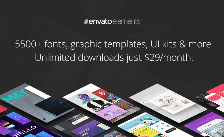 5500+ Graphic Assets Unlimited Downloads Just $29/month!