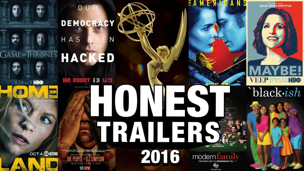 Emmy Nominated 'Honest Trailers' Web Series Pokes Fun at Other 2016 Emmy Nominees