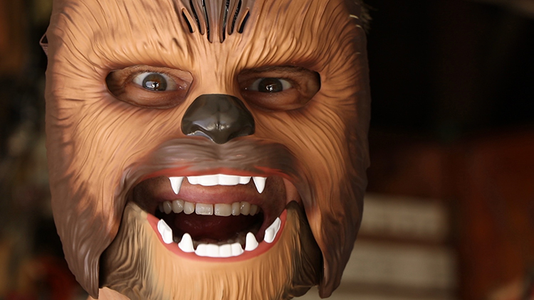 Chewbacca Mask Hack