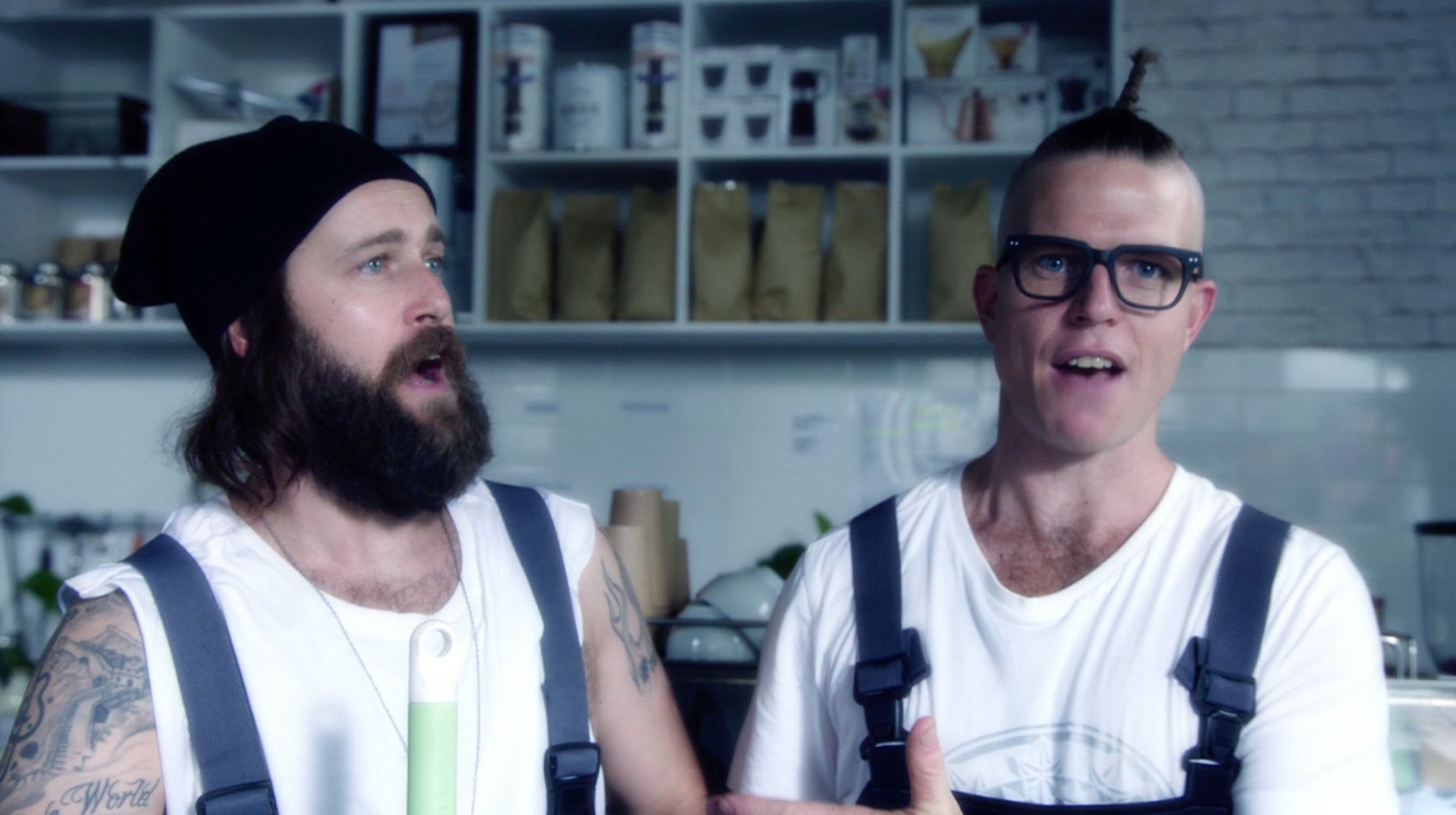 Hipster Cafe Level 9000, A Music Video About the Most Hipster Cafe