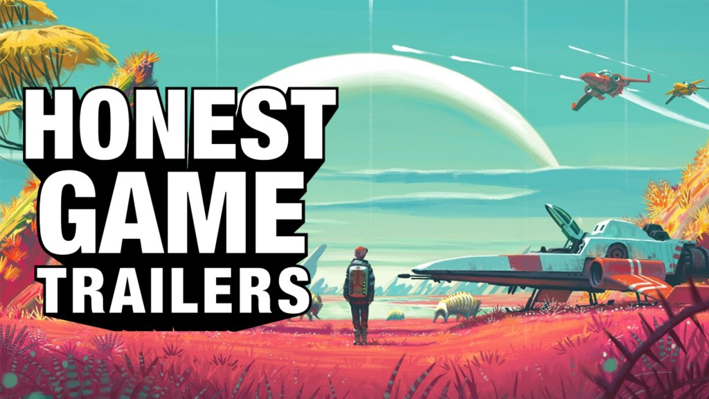 Honest Video Game Trailer for No Man's Sky
