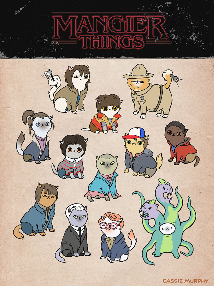 Stranger Things Cats