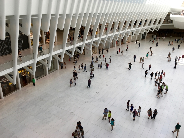 Inside the Beautiful New Oculus at the World Trade Center