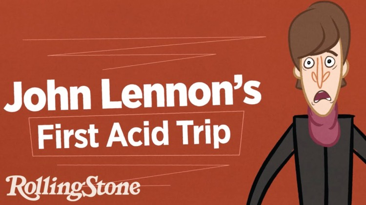John Lennon Describes the Very First Time He Took Acid In an Animated Interview by Rolling Stone