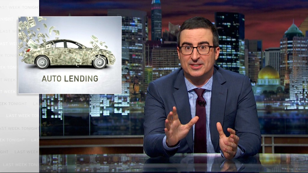 john oliver directs his righteous anger at the predatory nature of sub prime auto loans. Black Bedroom Furniture Sets. Home Design Ideas