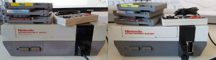 NESPi and NES Side by Side