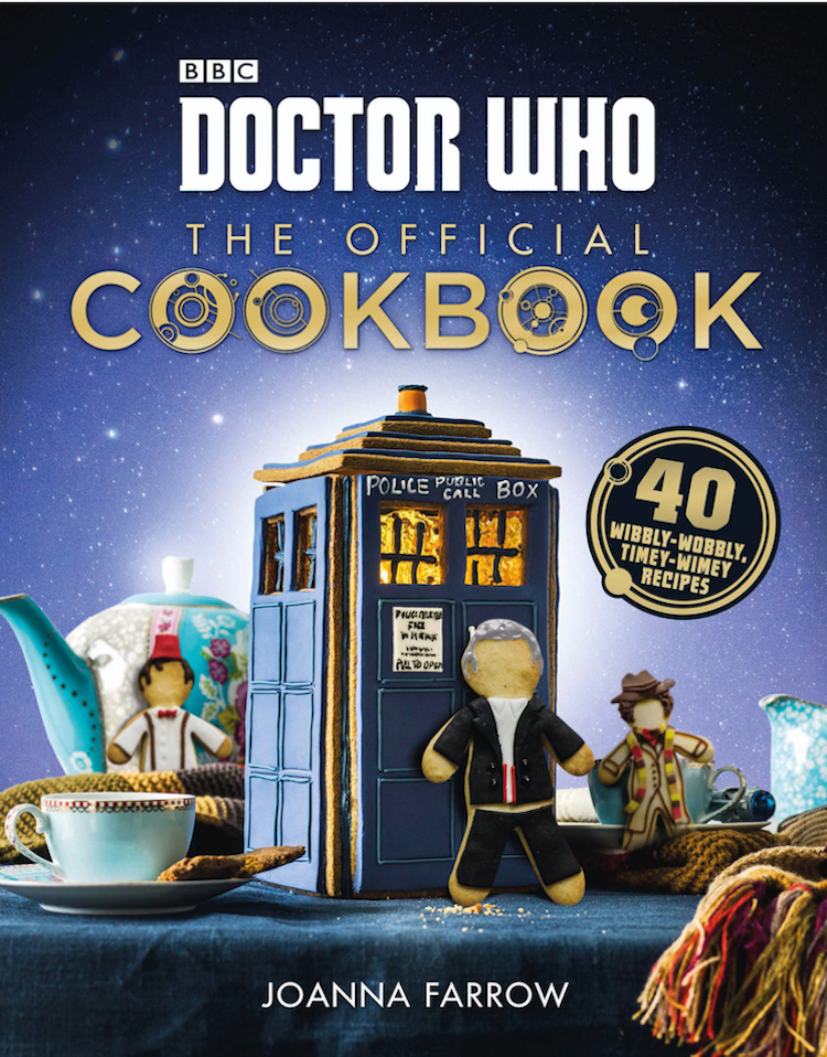 The Official Doctor Who Cookbook, A Collection of Fun Recipes Inspired by the Popular BBC Series