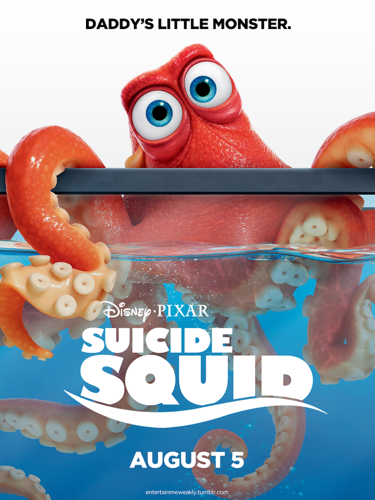 Suicide Squid Poster