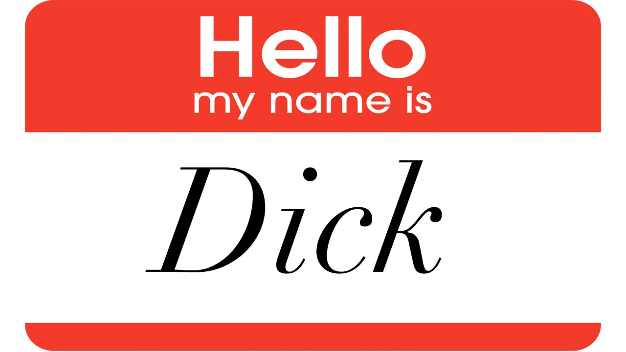 How the Name Dick Came to Be Short for Richard