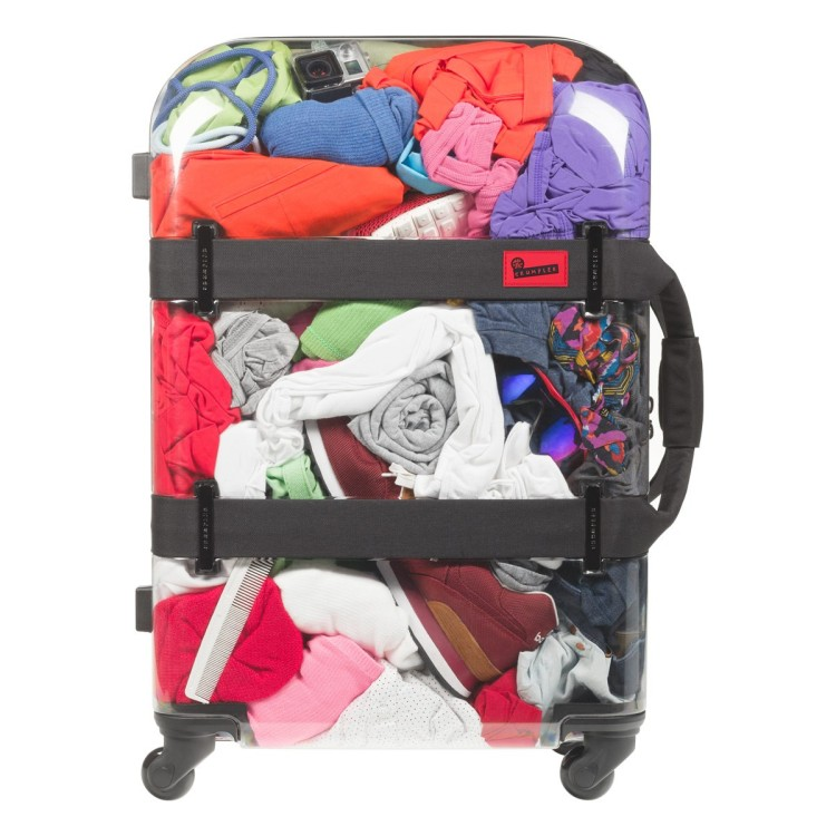 Vis a Vis Suitcase Filled With a Variety of Items